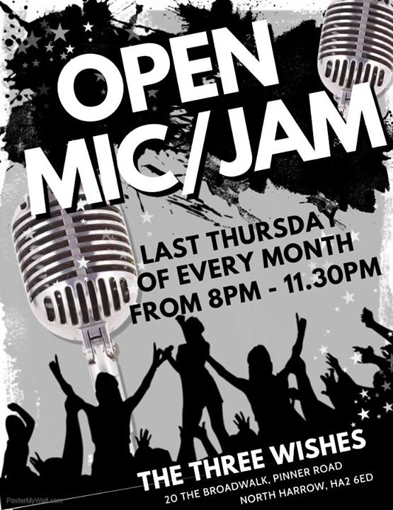 Open Mic/Jam Night At The Wishes