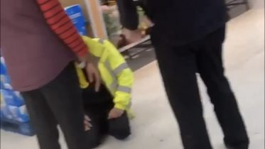 Security guard attacked in Stanmore supermarket